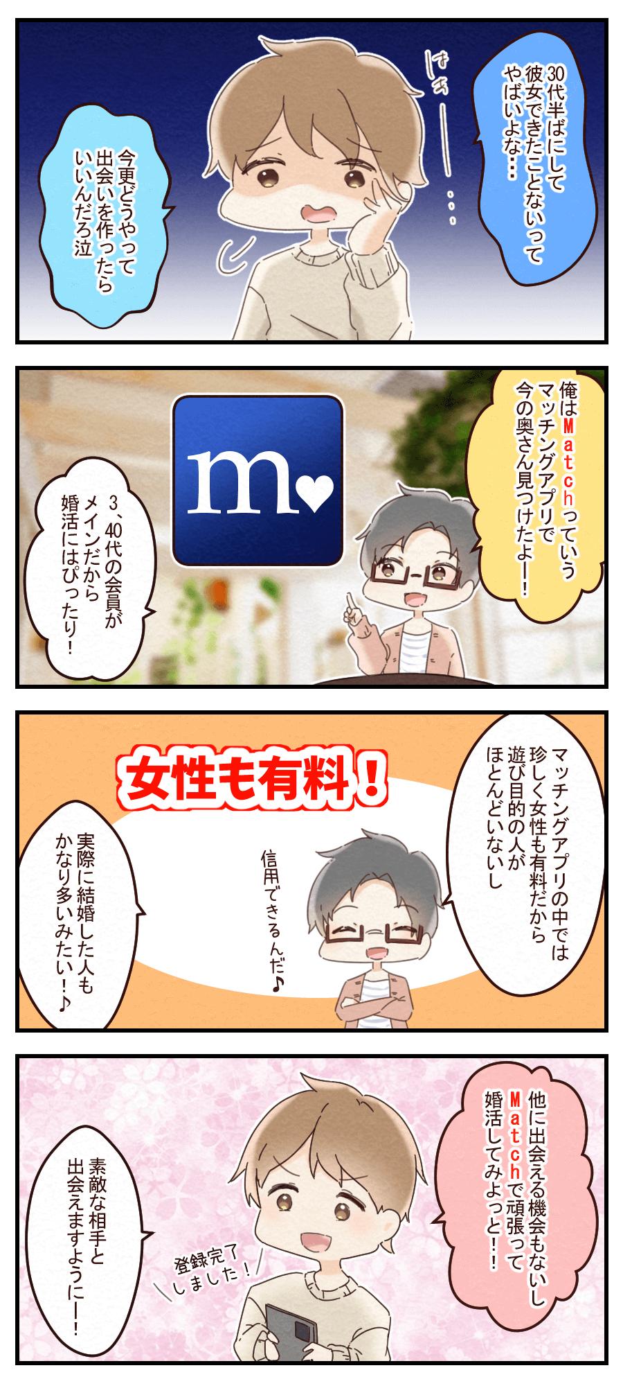 マッチ評判