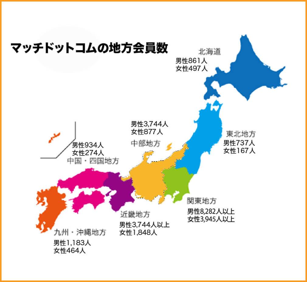 マッチングアプリ会員数【第五位】マッチドットコム