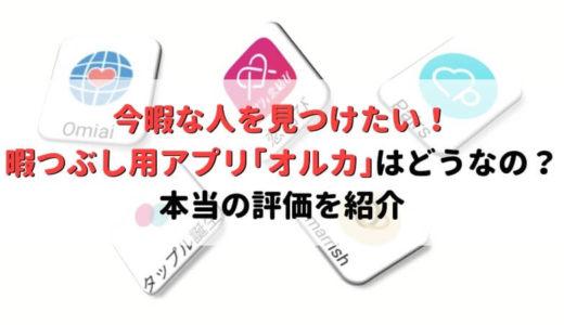 暇つぶし用アプリ「オルカ(マリンチャット)」は危険?!今暇な人と出会いたいなら他のアプリ!