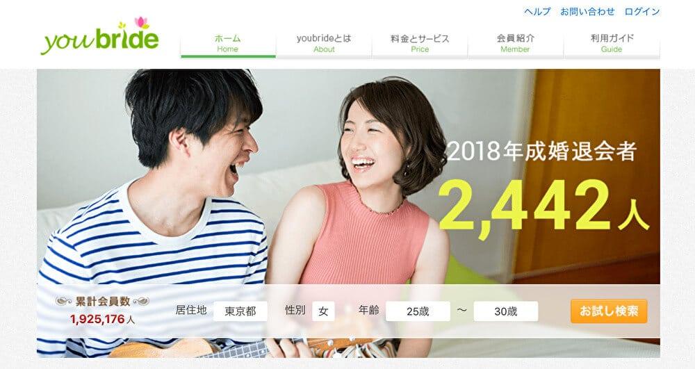 宮崎での利用におすすめなマッチングアプリ ユーブライド