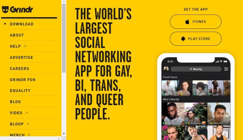ゲイ向けのおすすめマッチングアプリ Grindr